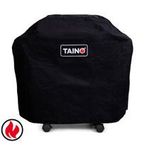 93552 TAINO Abdeckhaube 2 Brenner PLATINUM BLACK