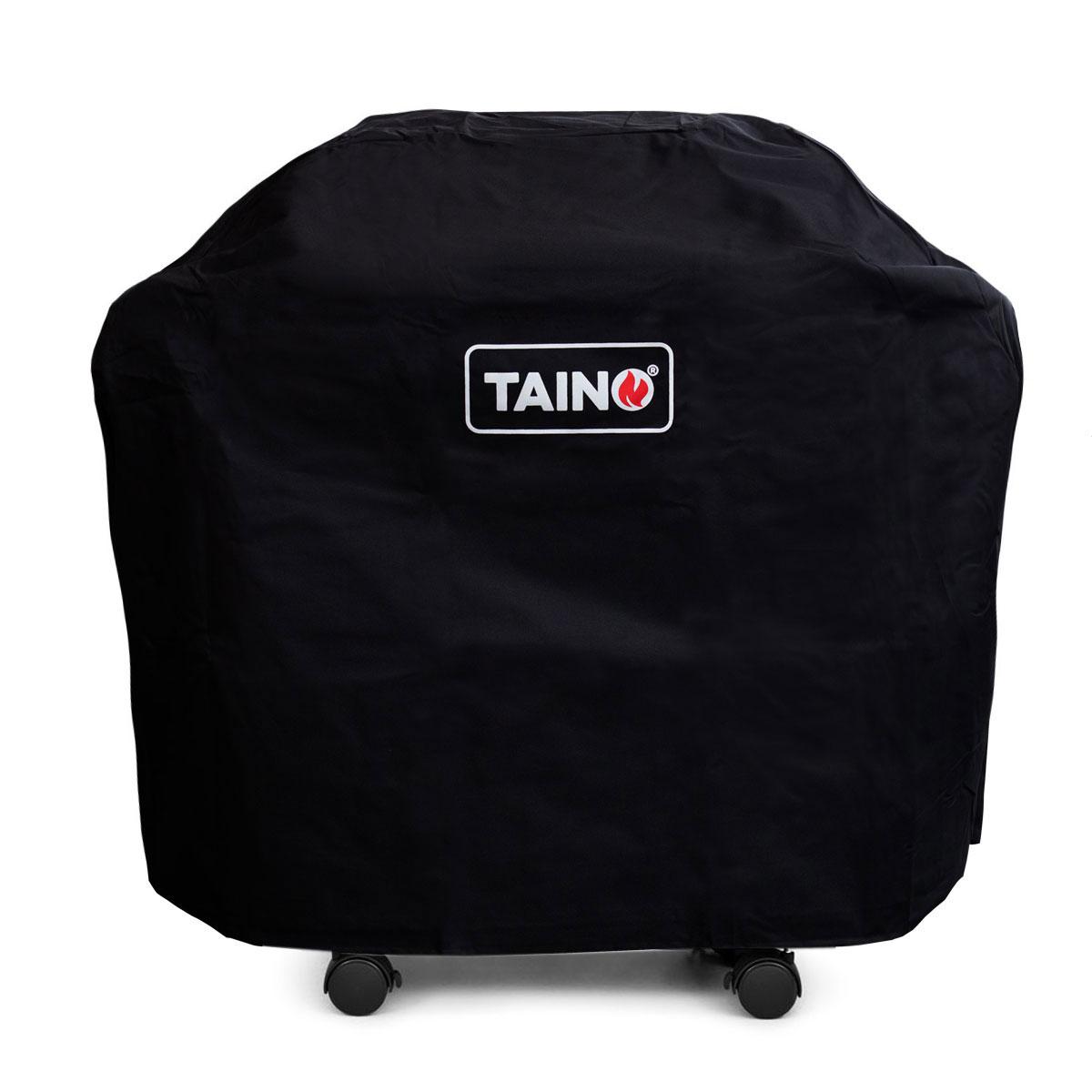 99994 TAINO Abdeckhaube 4 Brenner PLATINUM BLACK RED