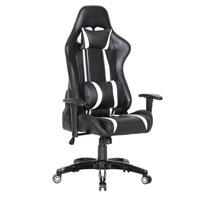 90207 Gaming Sessel Schwarz-weiß