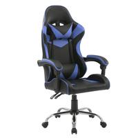 92123 SVITA Gaming Stuhl mit Lendenwirbelstütze Blau Schwarz