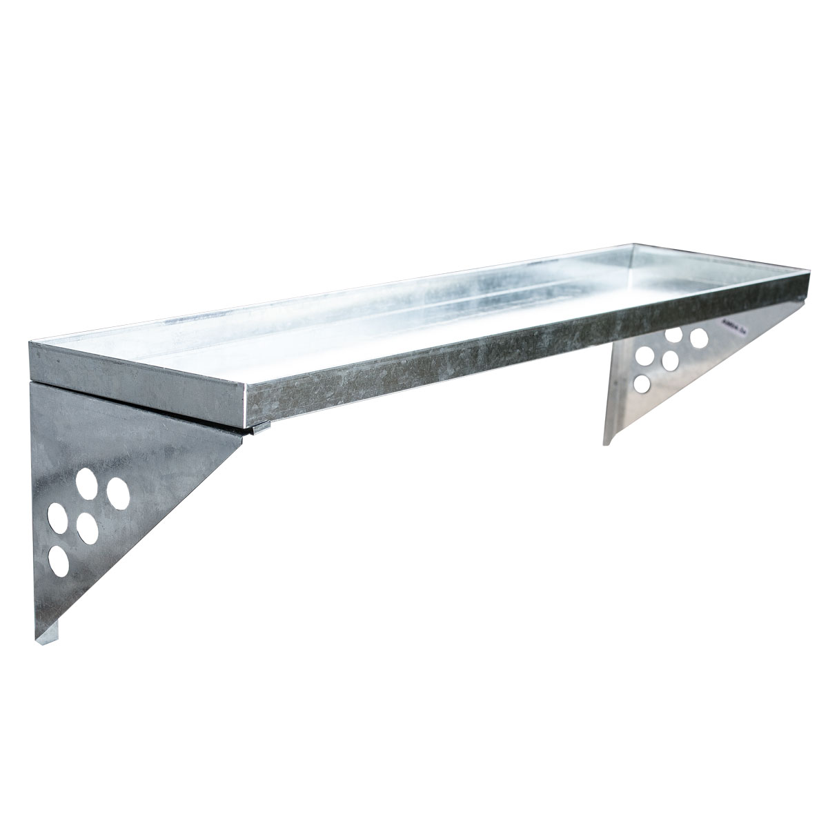 95646 SVITA Wandregal Metall-Regal für Gerätehaus