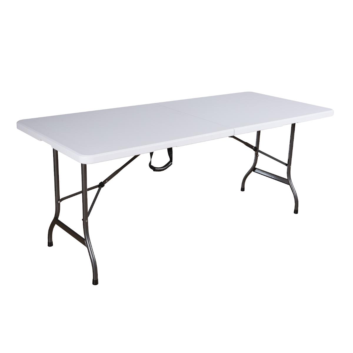90556 SVITA Buffettisch Klapptisch 180 cm weiß