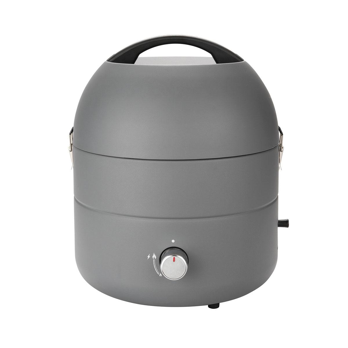 93567 TAINO Grill-to-Go portabler Gasgrill Grau