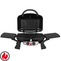 93410 TAINO Tischgrill 2.0 mit 2 Brenner Gasgrill