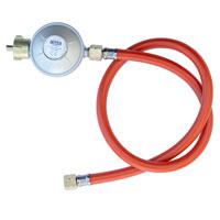 90088 Gasdruck-Regler mit Schlauch für Gasgrill