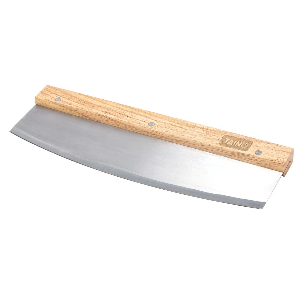 90099 TAINO Pizzaschneider mit Holzgriff