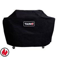 TAINO Abdeckhaube 3 Brenner PLATINUM BLACK