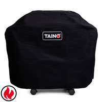 99996 TAINO Abdeckhaube 6 Brenner PLATINUM BLACK