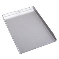 90108 TAINO Plancha Grillplatte aus massivem 4mm Edelstahl BBQ-Grillschale Rechteckig 30 x 40 cm