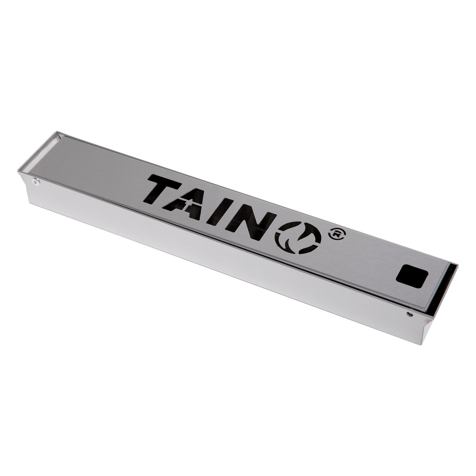 93578 TAINO Räucherbox aus Edelstahl Smokerbox Universal