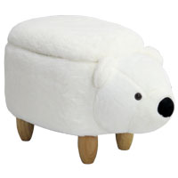 92330 SVITA Kinderhocker Eisbär