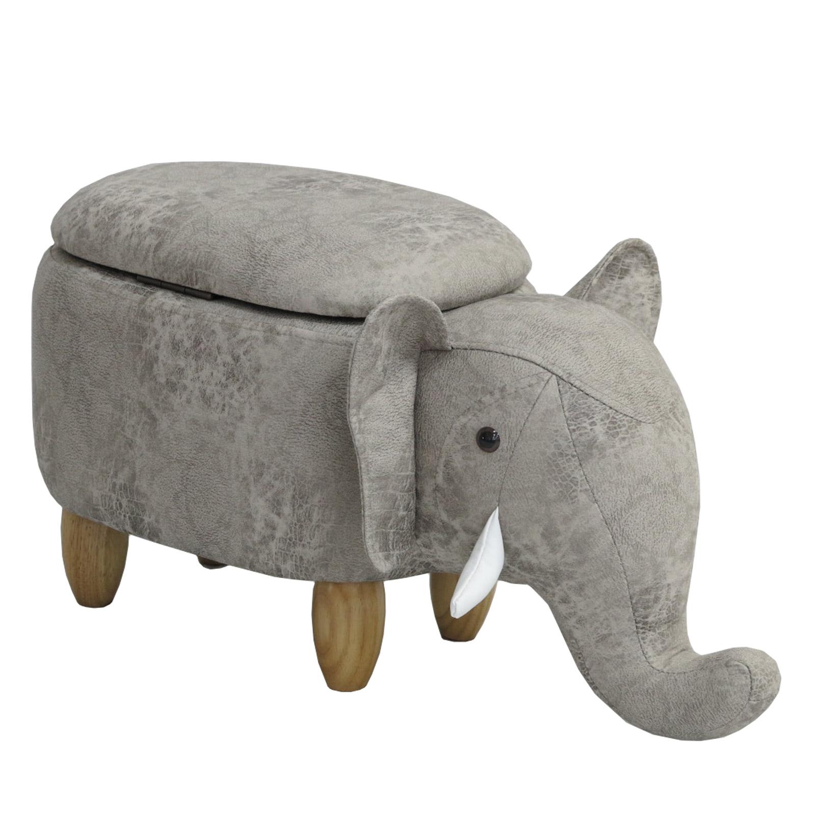 92335 SVITA Kinderhocker Elefant hellgrau