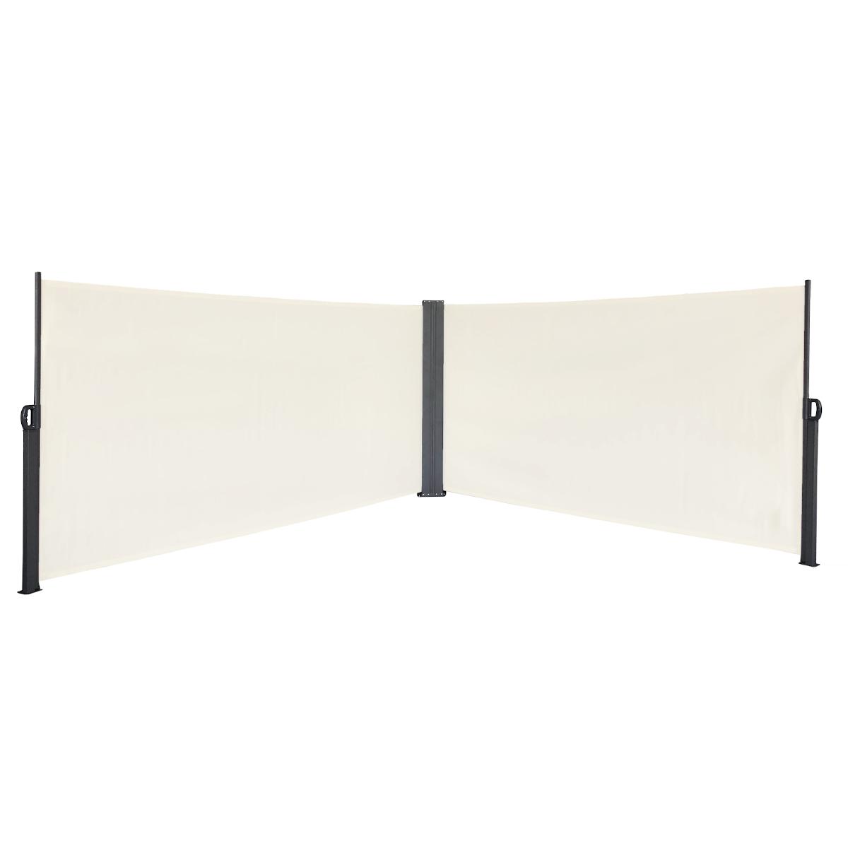 91061 SVITA Doppel Seitenmarkise 600 x 200 cm Beige