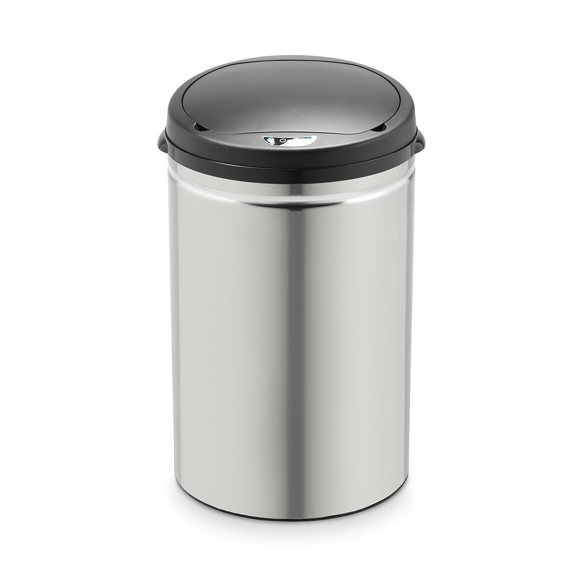 90730 SVITA Sensor-Mülleimer 30L Edelstahl Mülleimer mit Sensor Abfalleimer Küche