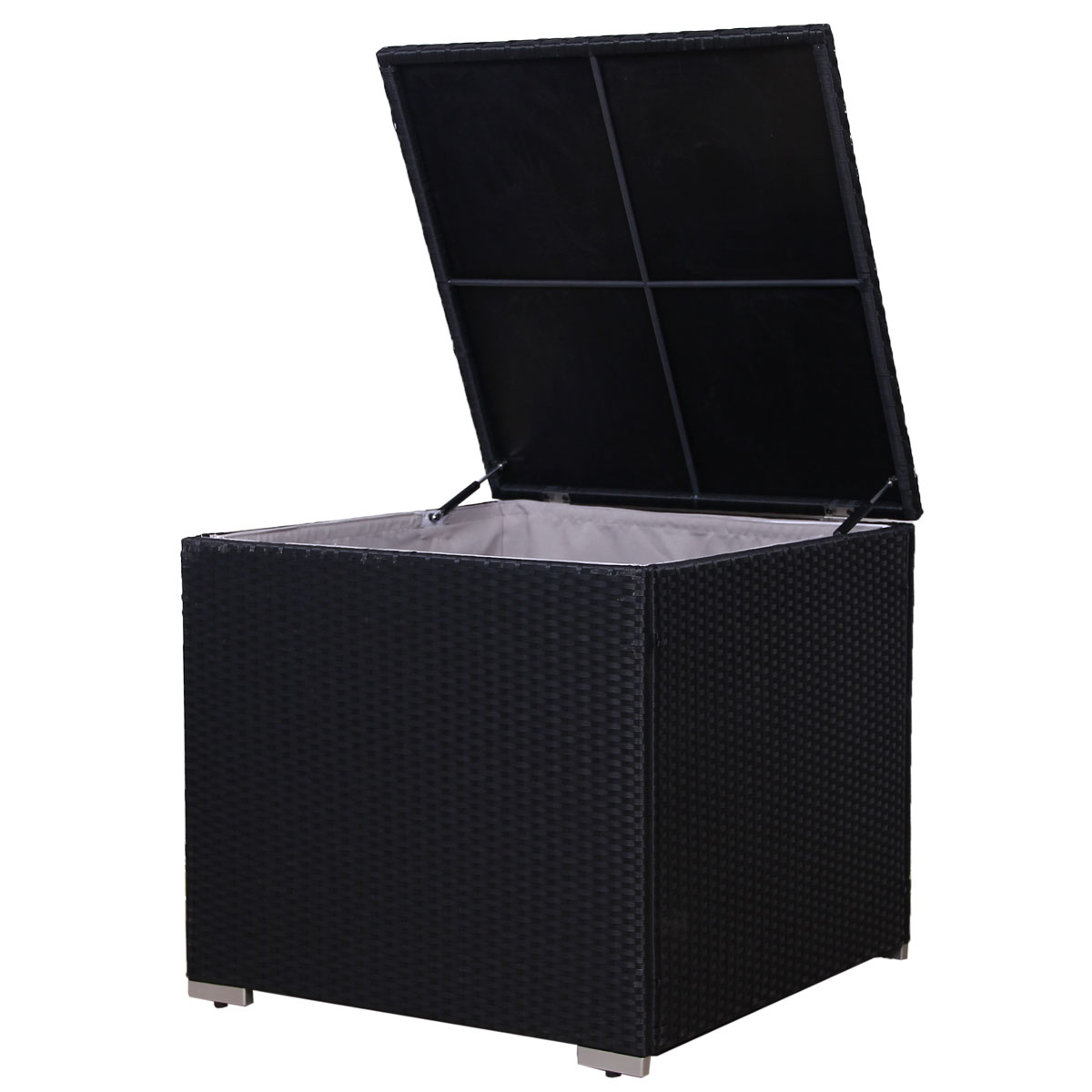 90969 SVITA Rattan Kissenbox für Lugano/ California schwarz
