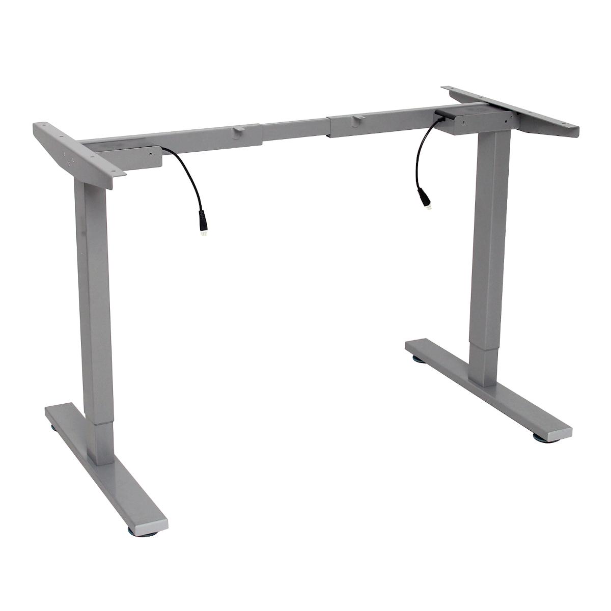 92288 SVITA höhenverstellbares Schreibtisch-Gestell 70-125 cm grau