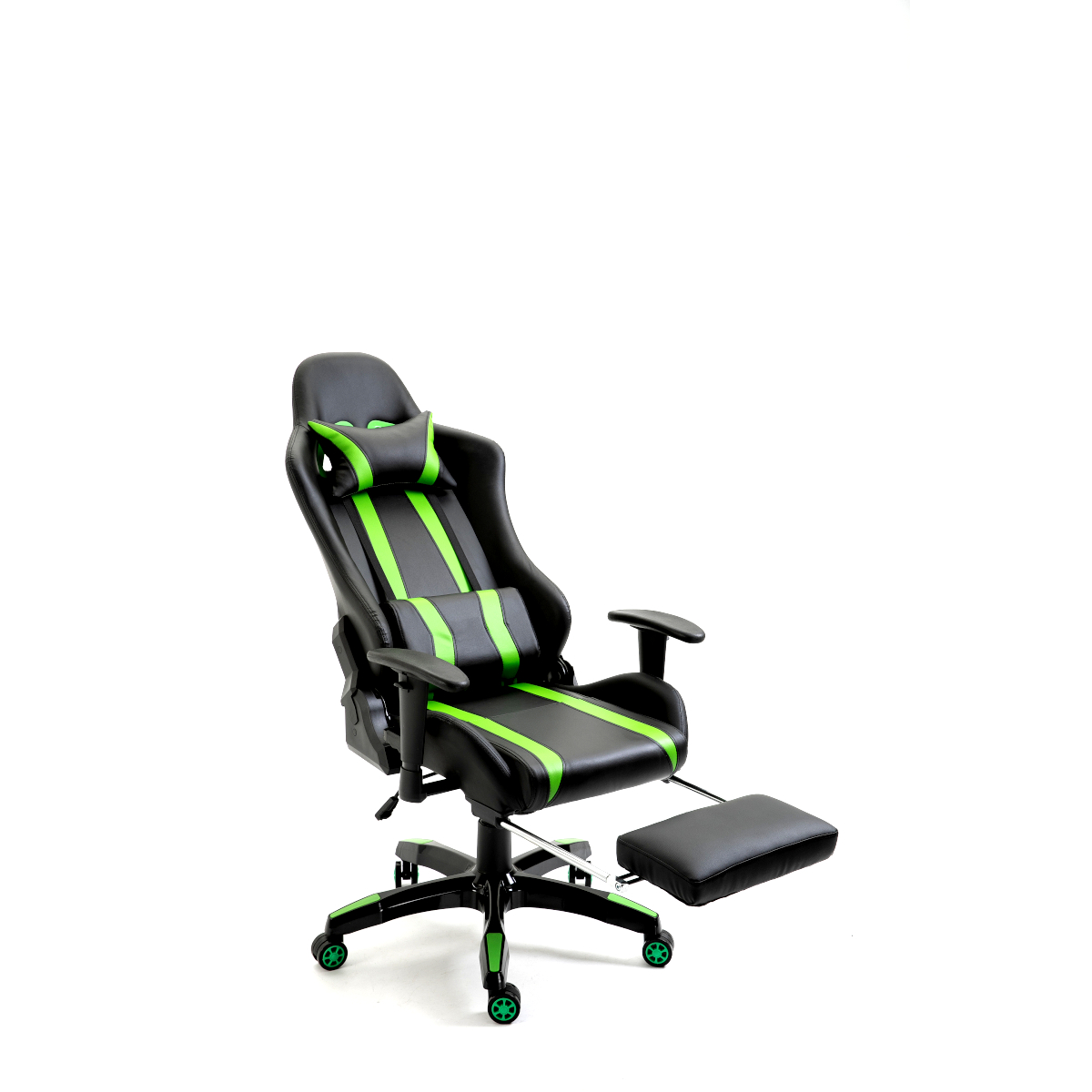 SVITA Gaming Stuhl Schreibtischstuhl Bürostuhl Drehstuhl Schreibtisch (Grün)