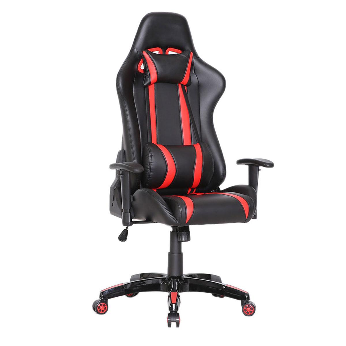 90206 Gaming Sessel Schwarz-rot