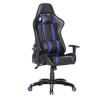 90209 Gaming Sessel Schwarz-blau