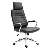 90450 SVITA Bürostuhl mit Kopfstütze schwarz