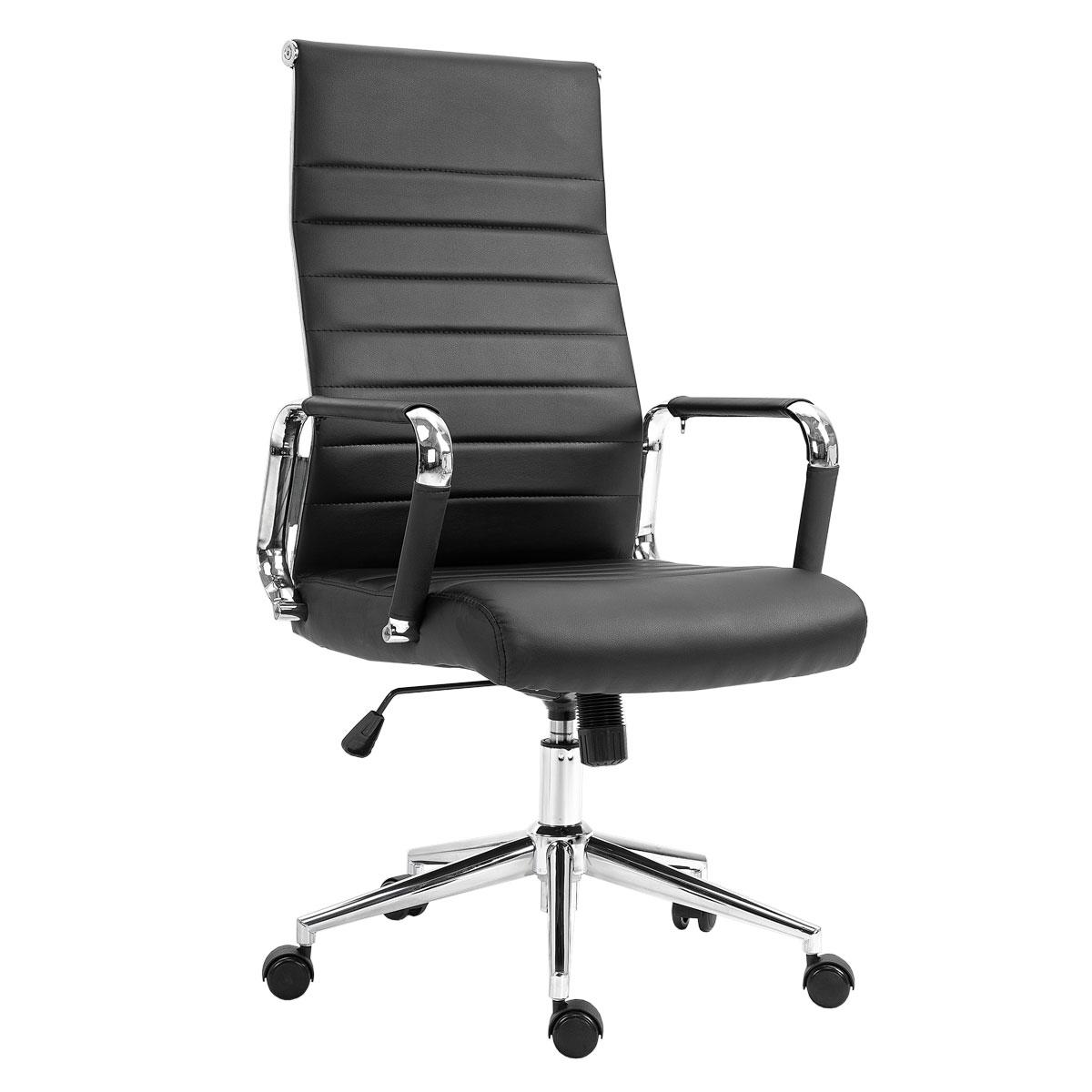 90515 SVITA Elegance Comfort Bürostuhl Kunstleder schwarz