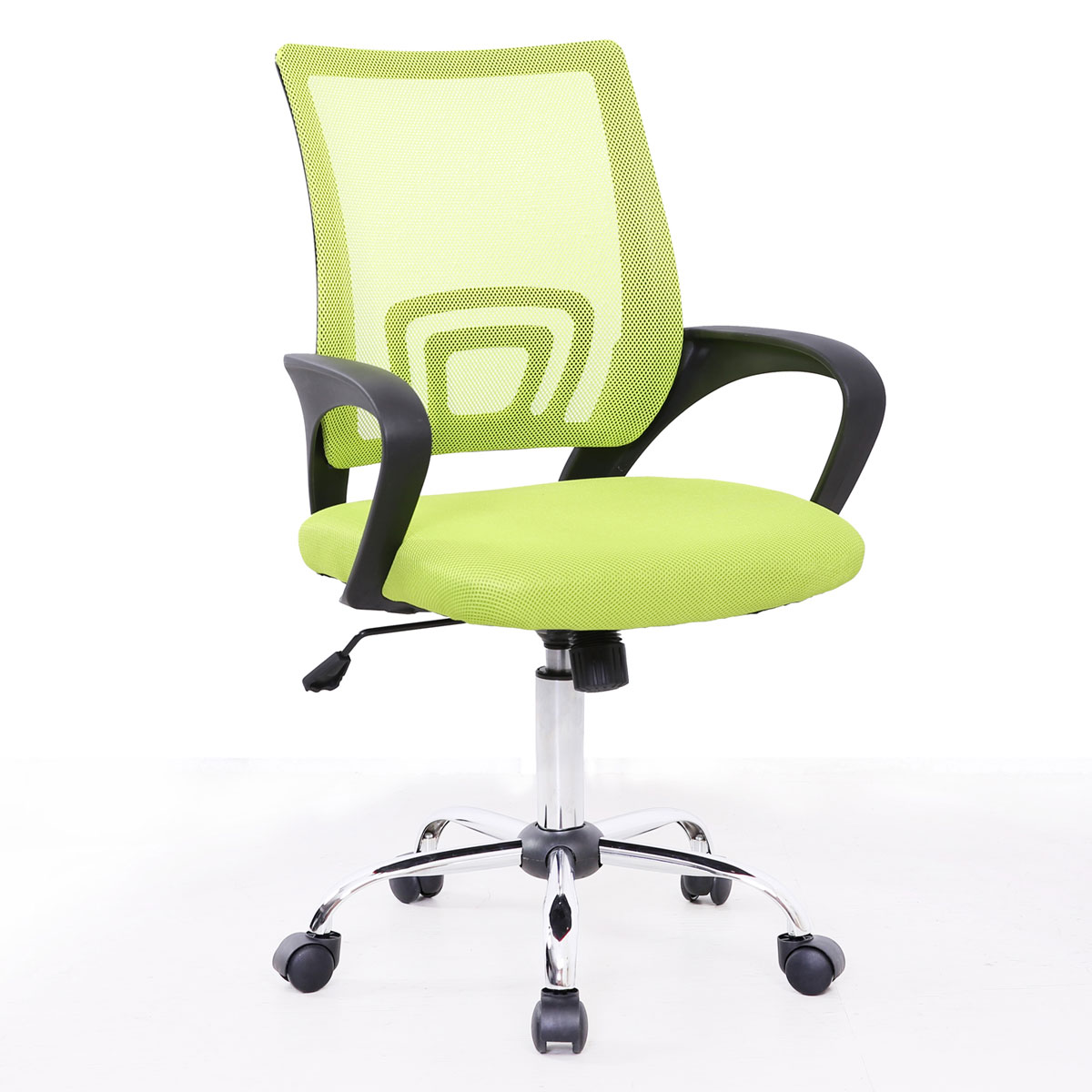 91200 SVITA CYDNEY Kinder Schreibtischstuhl Netzbezug grün