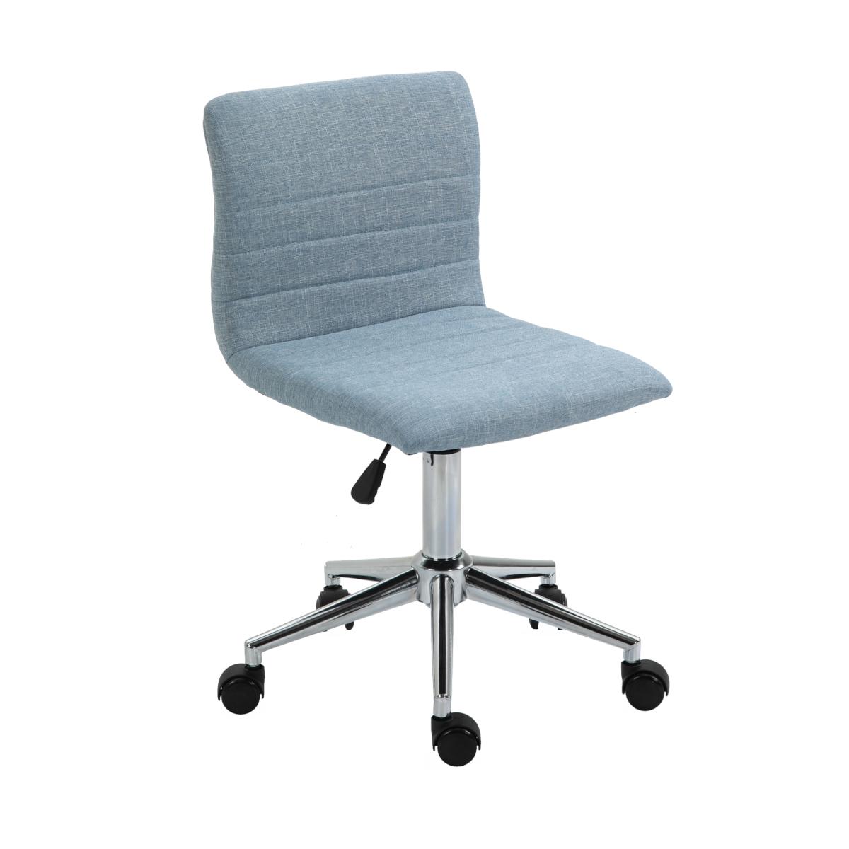 92212 SVITA LINUS Schreibtischstuhl Kinder Drehstuhl Stoffbezug Blau