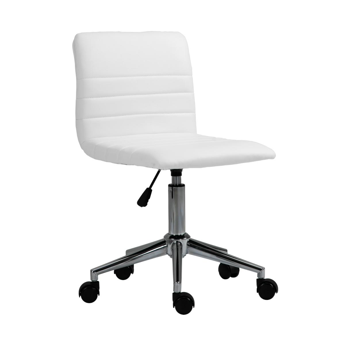 92213 SVITA LINUS Schreibtischstuhl Kinder Drehstuhl Kunstlederbezug Weiß