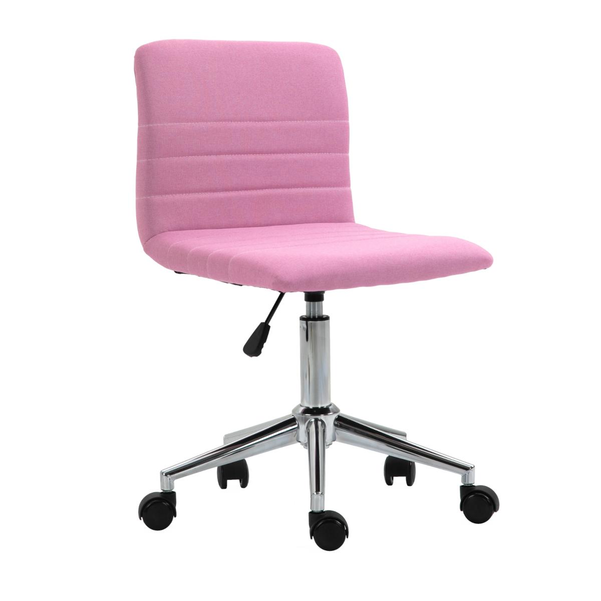 92216 SVITA LINUS Schreibtischstuhl Kinder Drehstuhl Stoffbezug Pink