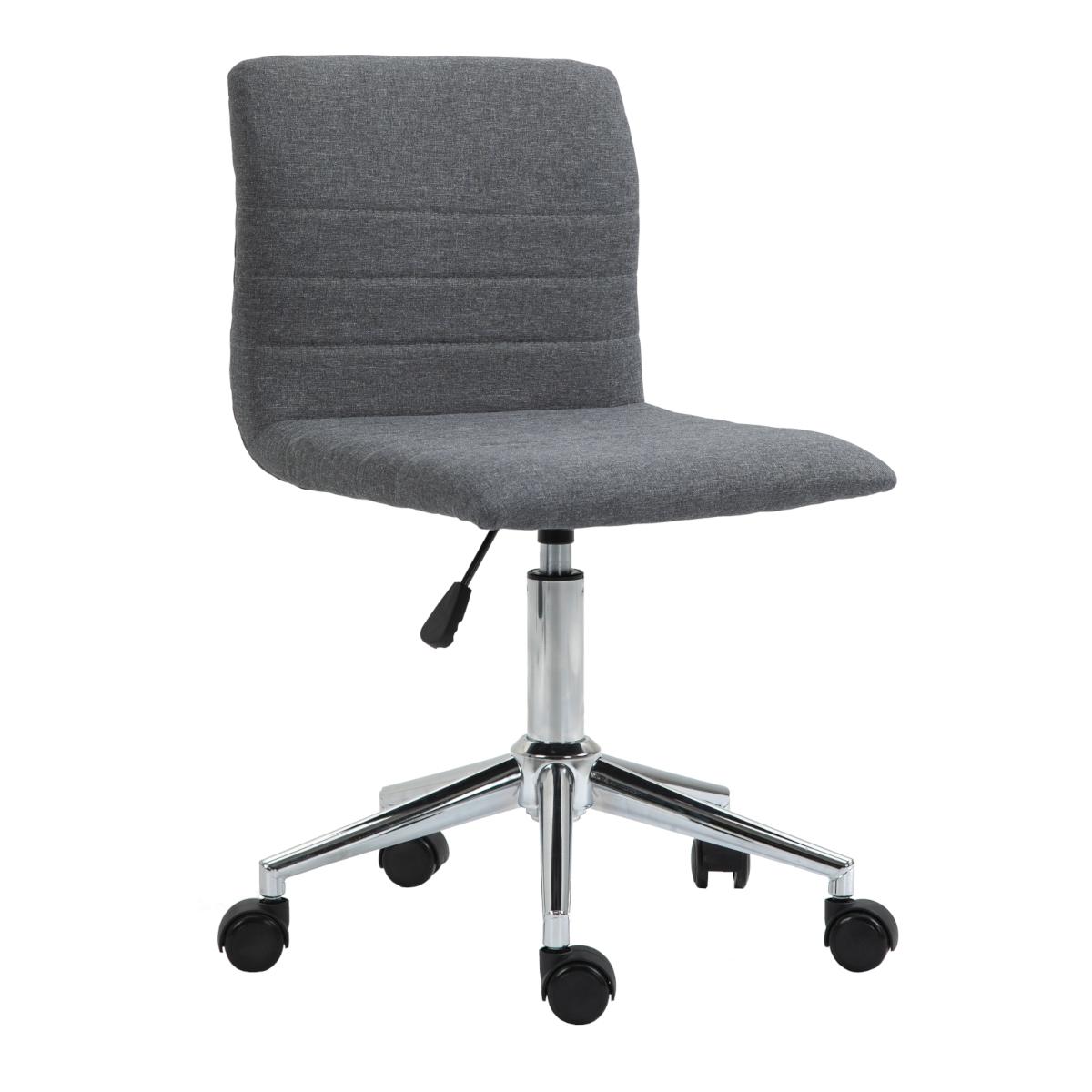 92218 SVITA LINUS Schreibtischstuhl Kinder Drehstuhl Stoffbezug Grau