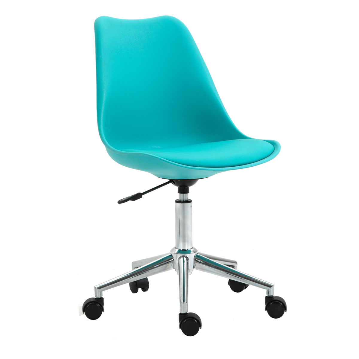 92232 SVITA EDDY Schreibtischstuhl für Kinder Drehstuhl Kinderschreibtischstuhl Türkis