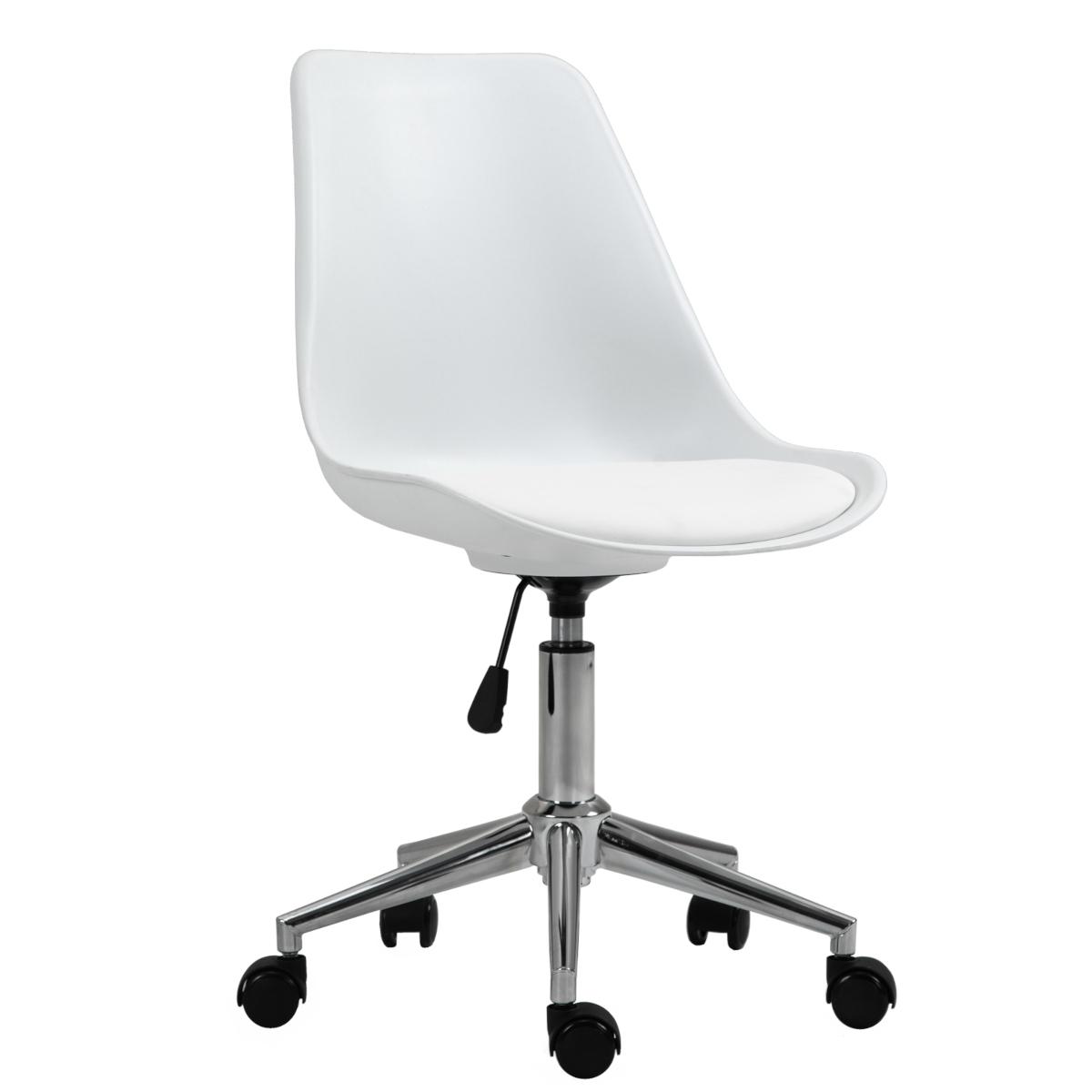 92233 SVITA EDDY Schreibtischstuhl für Kinder Drehstuhl Kinderschreibtischstuhl Weiß
