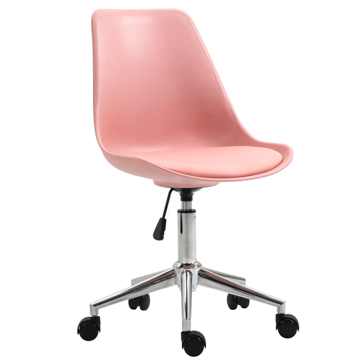 92236 SVITA EDDY Schreibtischstuhl für Kinder Drehstuhl Kinderschreibtischstuhl Rosa