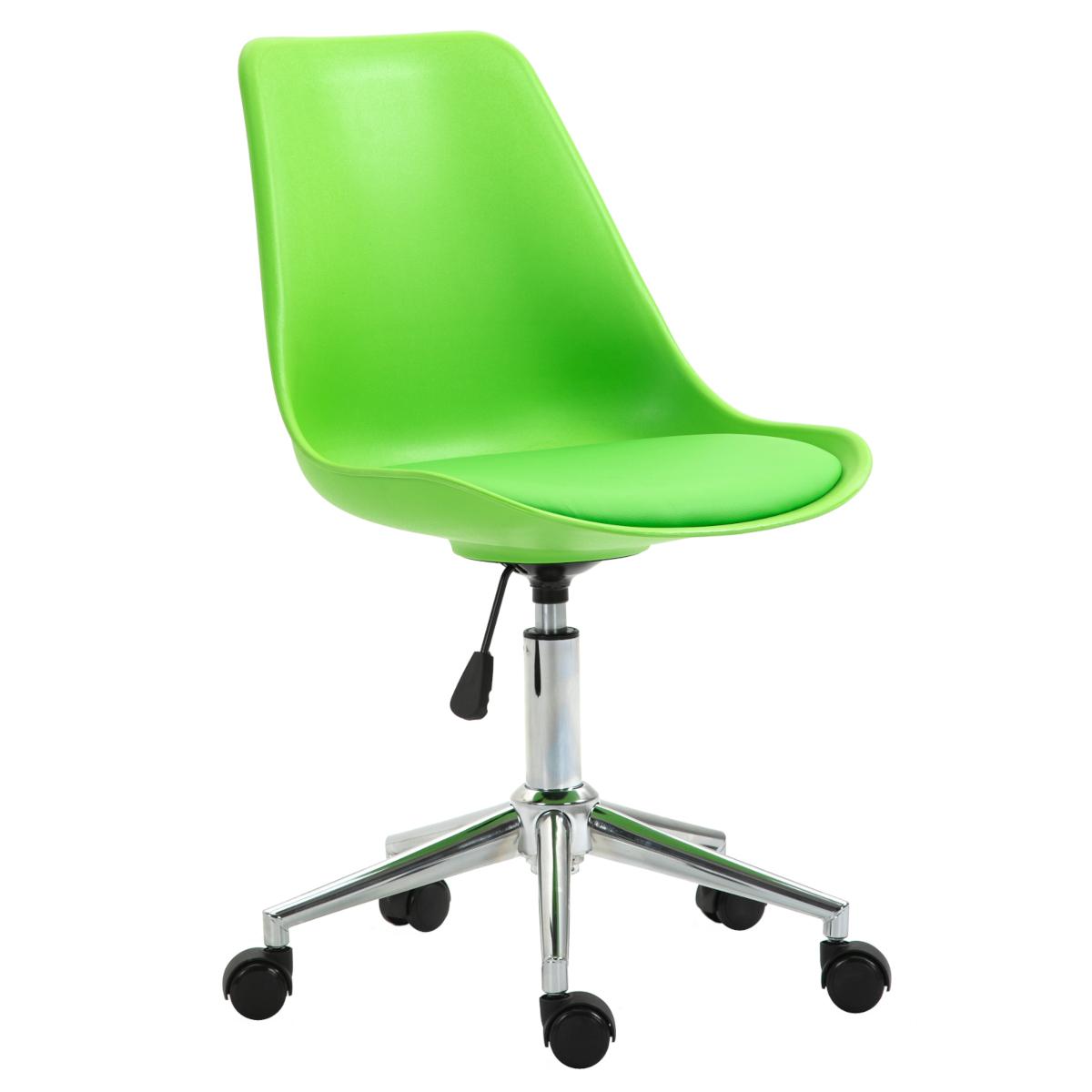 92237 SVITA EDDY Schreibtischstuhl für Kinder Drehstuhl Kinderschreibtischstuhl Grün