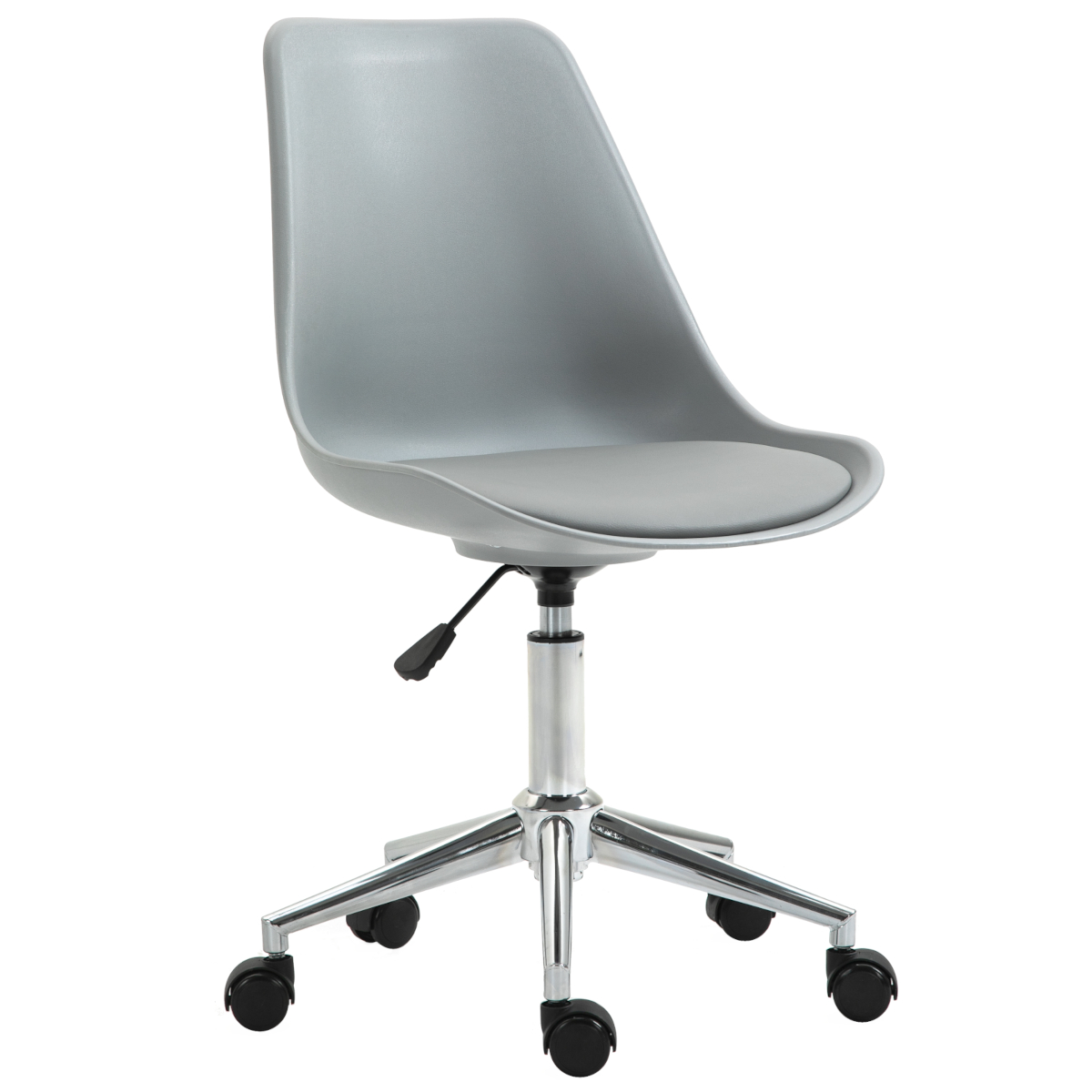 92238 SVITA EDDY Schreibtischstuhl für Kinder Drehstuhl Kinderschreibtischstuhl Grau