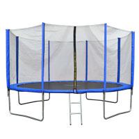 90507 JAWINIO Trampolin 366 cm Gartentrampolin Trampolin Kinder Komplettset Blau