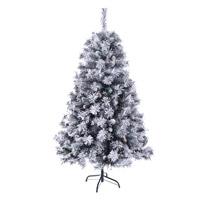 92028 SVITA Weihnachtsbaum künstlich mit Schnee und Tannenzapfen 150 cm
